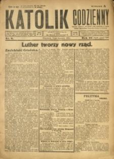 Katolik Codzienny, 1925, R. 28, Nr. 8