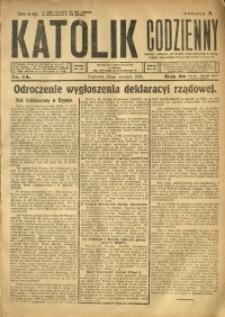 Katolik Codzienny, 1925, R. 28, Nr. 14