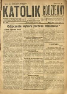 Katolik Codzienny, 1925, R. 28, Nr. 25