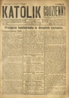Katolik Codzienny, 1925, R. 28, Nr. 71