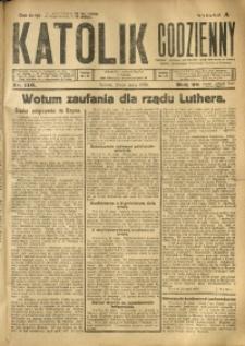 Katolik Codzienny, 1925, R. 28, Nr. 116