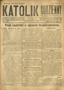 Katolik Codzienny, 1925, R. 28, Nr. 117