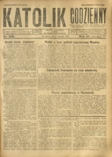 Katolik Codzienny, 1925, R. 28, Nr. 192