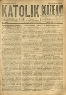Katolik Codzienny, 1925, R. 28, Nr. 213