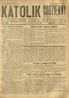 Katolik Codzienny, 1925, R. 28, Nr. 221