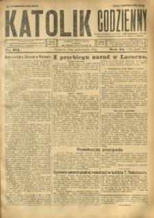 Katolik Codzienny, 1925, R. 28, Nr. 231