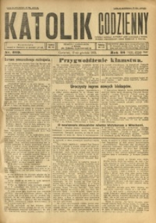 Katolik Codzienny, 1925, R. 28, Nr. 289