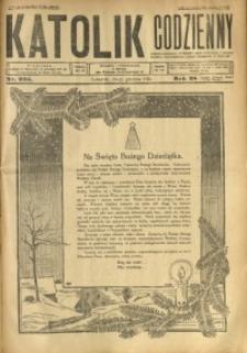 Katolik Codzienny, 1925, R. 28, Nr. 295