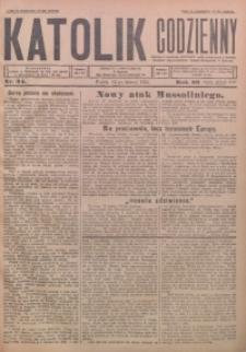 Katolik Codzienny, 1926, R. 29, Nr. 34