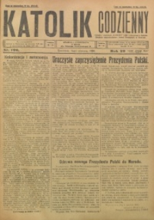 Katolik Codzienny, 1926, R. 29, Nr. 126