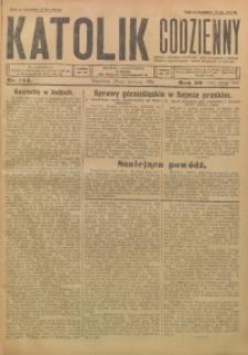 Katolik Codzienny, 1926, R. 29, Nr. 144