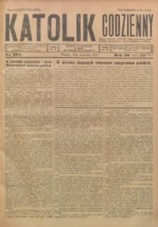 Katolik Codzienny, 1926, R. 29, Nr. 204