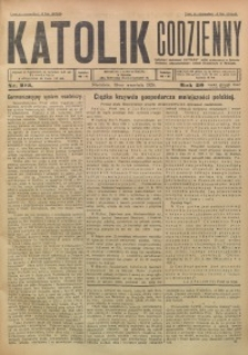 Katolik Codzienny, 1926, R. 29, Nr. 215