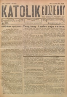 Katolik Codzienny, 1926, R. 29, Nr. 221