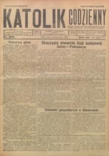 Katolik Codzienny, 1926, R. 29, Nr. 229