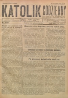 Katolik Codzienny, 1926, R. 29, Nr. 230