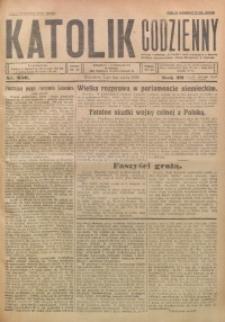 Katolik Codzienny, 1926, R. 29, Nr. 256