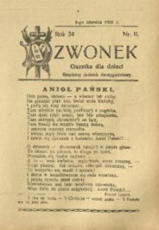 Dzwonek, 1925, R. 24, nr 11