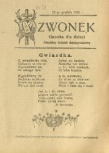 Dzwonek, 1925, R. 24, nr 34