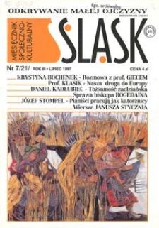 Śląsk, 1997, R. 3, nr 7