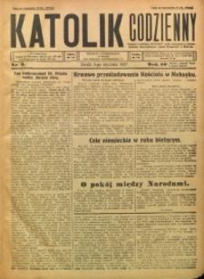Katolik Codzienny, 1927, R. 30, Nr. 3