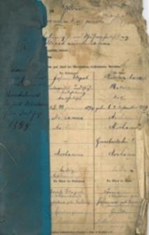 Standesamt zu Jastrzemb 1899