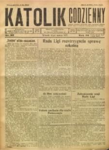 Katolik Codzienny, 1927, R. 30, Nr. 60