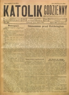 Katolik Codzienny, 1927, R. 30, Nr. 68