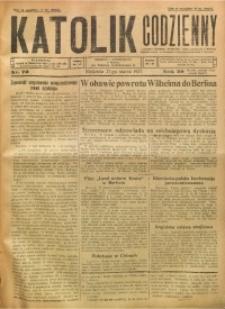 Katolik Codzienny, 1927, R. 30, Nr. 70