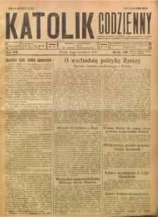 Katolik Codzienny, 1927, R. 30, Nr. 84