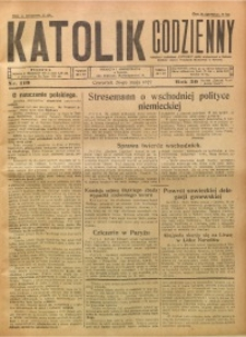 Katolik Codzienny, 1927, R. 30, Nr. 119