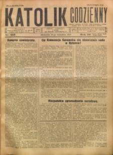 Katolik Codzienny, 1927, R. 30, Nr. 213