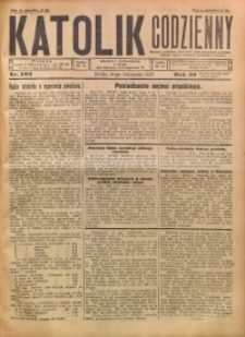 Katolik Codzienny, 1927, R. 30, Nr. 262