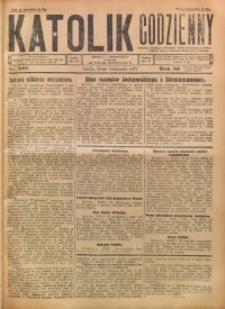 Katolik Codzienny, 1927, R. 30, Nr. 267
