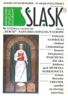 Śląsk, 1997, R. 3, nr 11