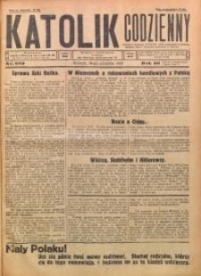 Katolik Codzienny, 1927, R. 30, Nr. 289