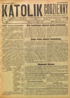 Katolik Codzienny, 1928, R. 31, Nr. 28