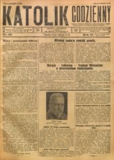 Katolik Codzienny, 1928, R. 31, Nr. 33