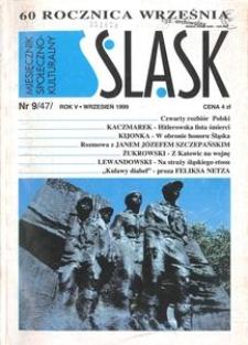 Śląsk, 1999, R. 5, nr 9
