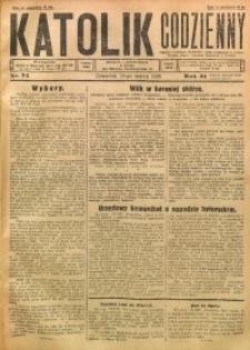 Katolik Codzienny, 1928, R. 31, Nr. 74