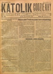 Katolik Codzienny, 1928, R. 31, Nr. 79