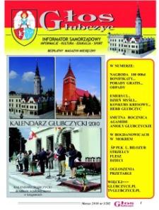 Głos Głubczyc : informator samorządowy : informacje, kultura, edukacja, sport : bezpłatny magazyn miesięczny 2010, nr 3 (202).