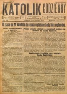 Katolik Codzienny, 1928, R. 31, Nr. 96
