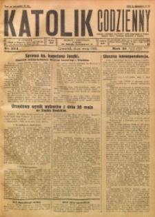 Katolik Codzienny, 1928, R. 31, Nr. 124