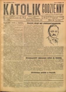 Katolik Codzienny, 1928, R. 31, Nr. 196