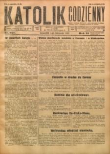 Katolik Codzienny, 1928, R. 31, Nr. 254