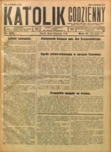 Katolik Codzienny, 1928, R. 31, Nr. 277