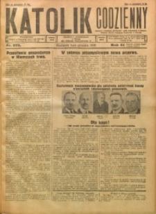 Katolik Codzienny, 1928, R. 31, Nr. 279