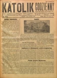 Katolik Codzienny, 1928, R. 31, Nr. 285