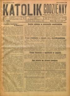 Katolik Codzienny, 1928, R. 31, Nr. 296
